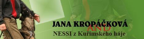 Janička Kropáčková a Nessi